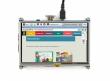 نمایشگر 5 اینچ لمسی دارای ورودی HDMI مناسب برای انواع برد های دارای پورت HDMI